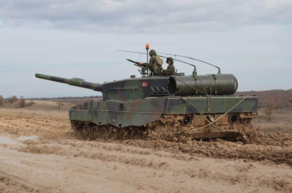 Türk Leopard2A4 tankı