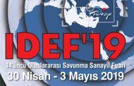 IDEF 2019 Fuarı İstanbul'da başladı