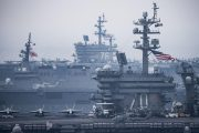 ABD donanması Ortadoğu'ya doğru yola çıktı