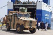Libya'ya satılan MRAP Kirpi'ler Trablus'a ulaştı
