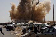 Libya Savaş Uçakları GNA'ya (Ulusal Anlaşma Hükümeti) karşı hava saldırısı yapıyor