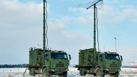 Türk Ordusu MILKAR-3A3 elektronik savaş sistemlerini aldı