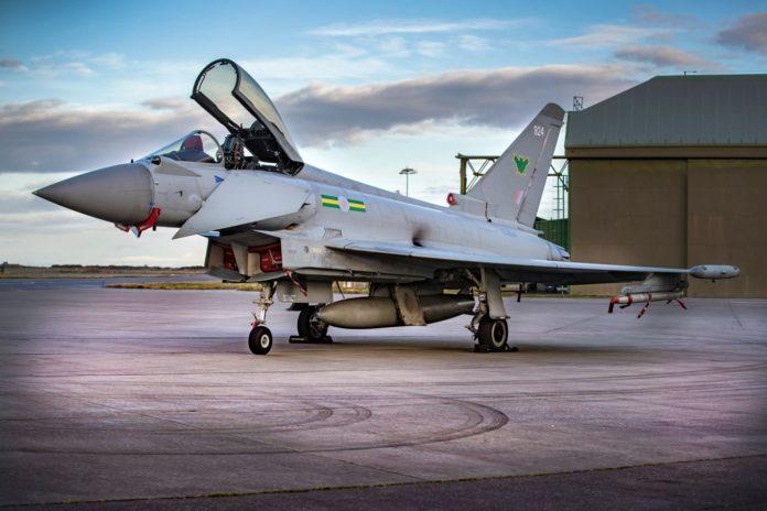 Eurofighter Typhoon'un RAF'a son teslimatı da tamamlandı