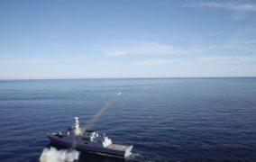 ATMACA Güdümlü Mermisi atışı, TCG KINALIADA korveti tarafından başarılı şekilde yapıldı.