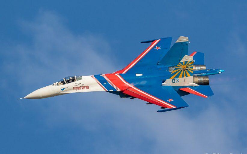 Rus Sukhoi SU-27 savaş uçağı ve L-39 eğitim uçağı düştü!