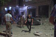 Rusya, İdlib'de yoğun hava saldırısı başlattı
