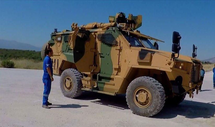 VURAN Zırhlı Araçların teslimatı son sürat devam ediyor