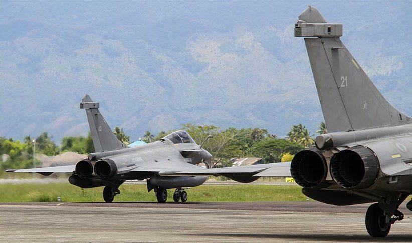 Fransız Rafale uçakları Güney Kıbrıs'ta