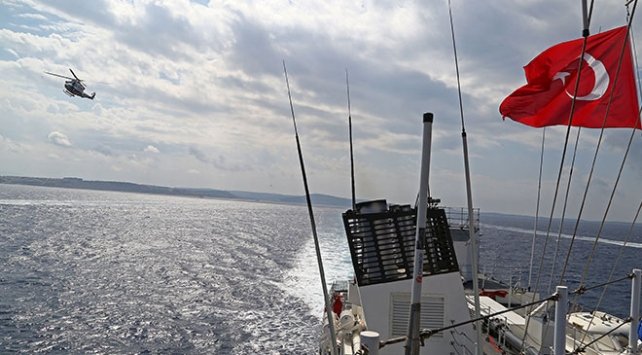 Türkiye'den Sakız Adası için yeni NAVTEX!