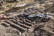 Pençe-Kaplan Operasyonu'nda terör örgütü PKK'ya ait çok sayıda silah ve mühimmat ele geçirildi