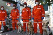 İzmir'deki deprem bölgesinde görev yapan