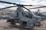 Amerikan Cobra AH-1Z Viper Kaza Geçirdi