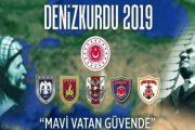 Modern Türk Deniz Kuvvetleri tarihinin en büyük askeri tatbikatı Denizkurdu 2019 başladı