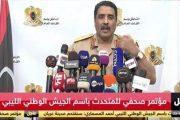 Libya Ulusal Ordusu: Türk İHA'yı düşürdük, hava sahasını Türkiye'ye kapatıyoruz