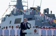 """""""TCG Kınalıada"""" törenle donanmaya katıldı"""