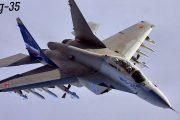 Rusya'nın yeni savaş uçağı MiG-35 dikey kalkış gerçekleştirdi