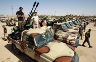 Libya'da Sirte'nin batısına askeri sevkiyat