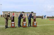 Somali Türk Görev Komutanlığı'nda mezuniyet heyecanı