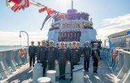 Pakistan Donanması'na Yarmook sınıfı korvet
