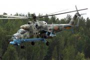 Ermenistan'da bir Rus Mi-24  helikopteri düşürüldü