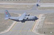 Erciyes projesi kapsamında 8'inci C130 uçağı TSK'ya teslim edildi