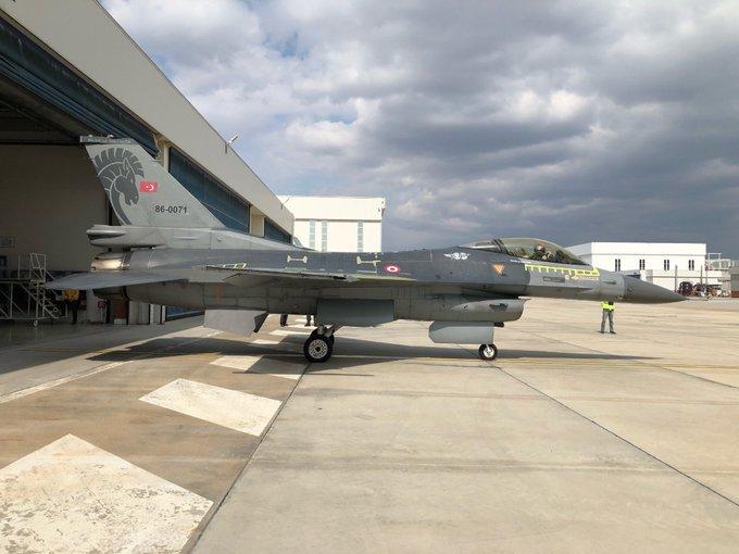 5'inci F-16 Blok-30 savaş uçağı TSK'ya teslim edildi
