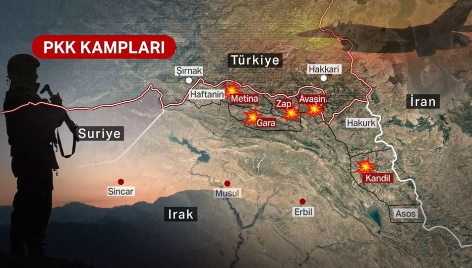 Pençe-Şimşek ve Pençe Yıldırım operasyonu başladı. Komandolar Kuzey Irak'ta !