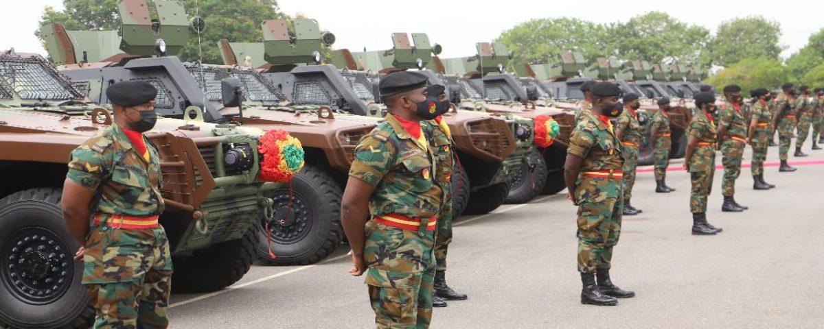 Gana, 40 Cobra II aracını halka tanıttı
