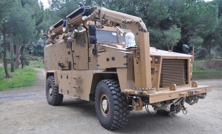 Kara Kuvvetleri'ne KİRPİ PMKİ Aracı teslimatı