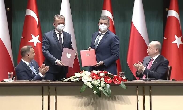 Polonya ile 24 Adet Bayraktar TB2 için imzalar atıldı