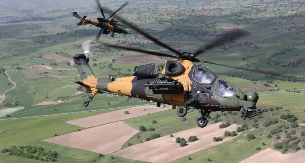 Kara Kuvvetleri Komutanlığı'na 54 adet T129 ATAK teslimatı