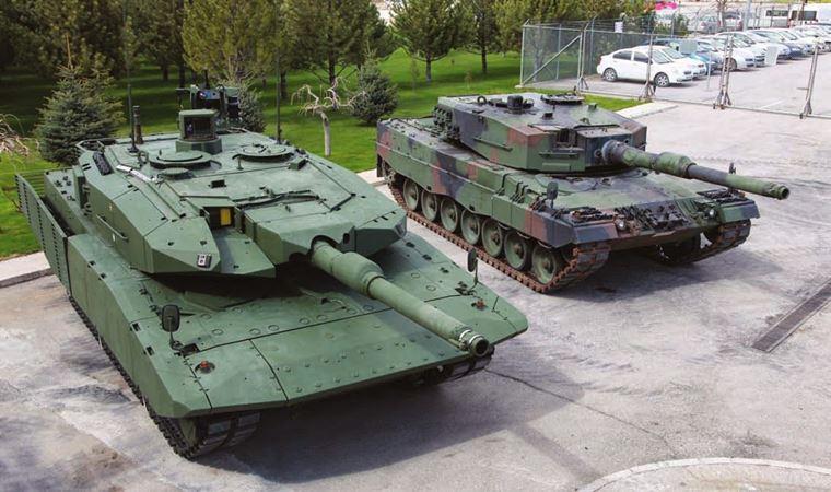 Leopard 2A4 için geliştirilen zırh paketinin tanklara entegrasyonu başladı