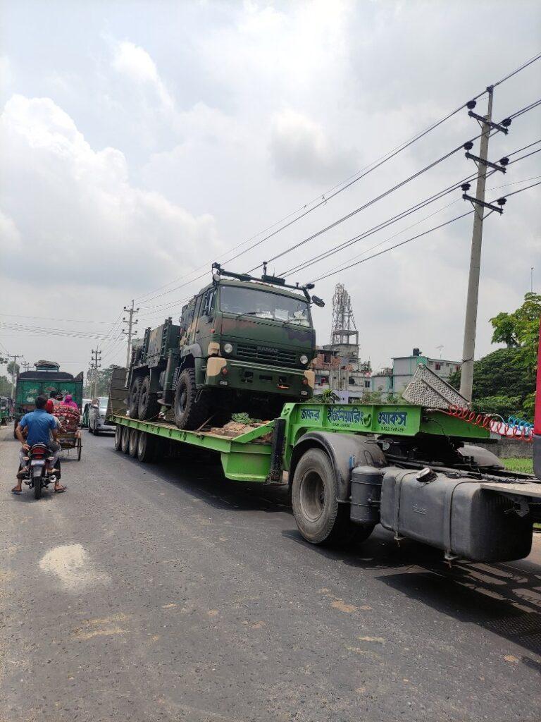 ROKETSAN'dan Bangladeş'e TRG-300 KAPLAN Füzesi teslimatı