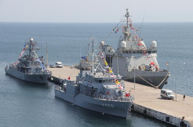 NATO savaş gemileri Sinop'ta