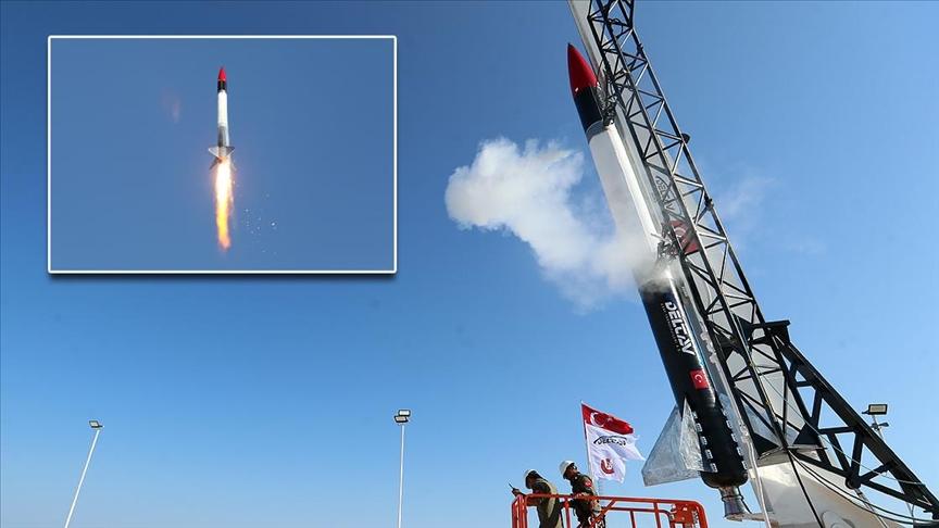Türkiye'nin Ay Misyonu, Sonda Roket Sistemi (SORS) ile başarılı bir şekilde start aldı !