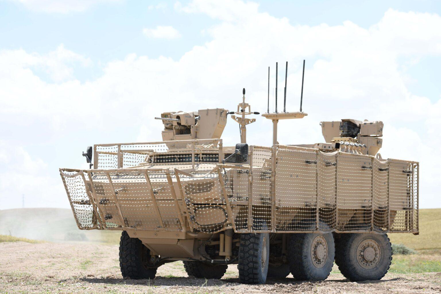 FNSS'den PARS IV 6×6 Özel Operasyonlar Aracı